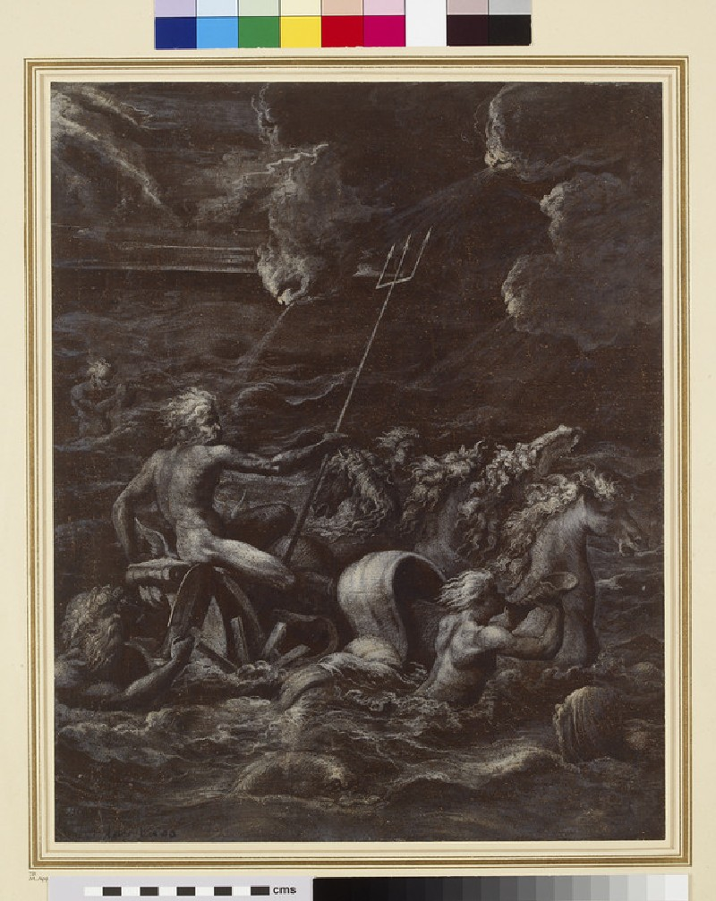 Neptune triumphant over the Waves (WA1950.19)
