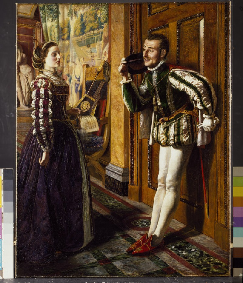 Katherine and Petruchio (WA1950.197)