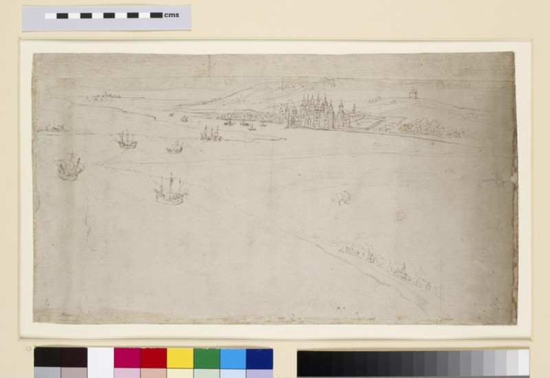 Panorama of London as seen from Southwark: Greenwich