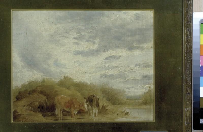 Cows in a Landscape (WA1950.26)
