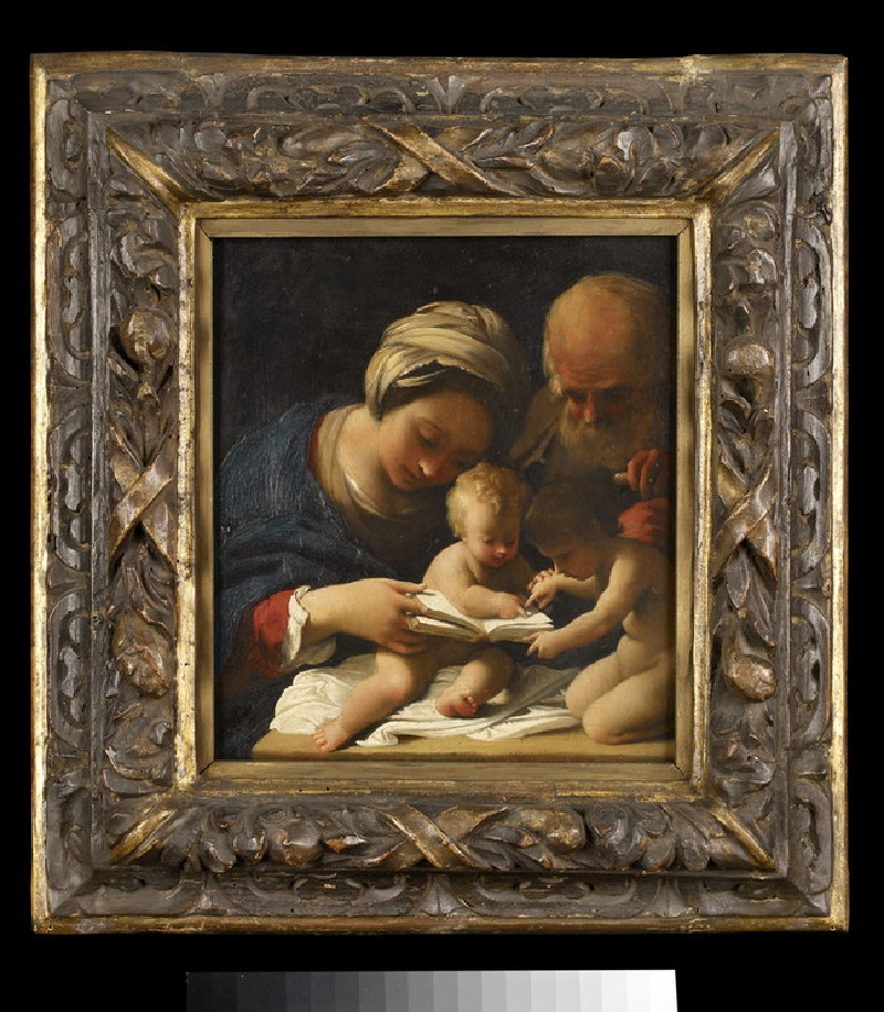 The Holy Family with the young St John the Baptist