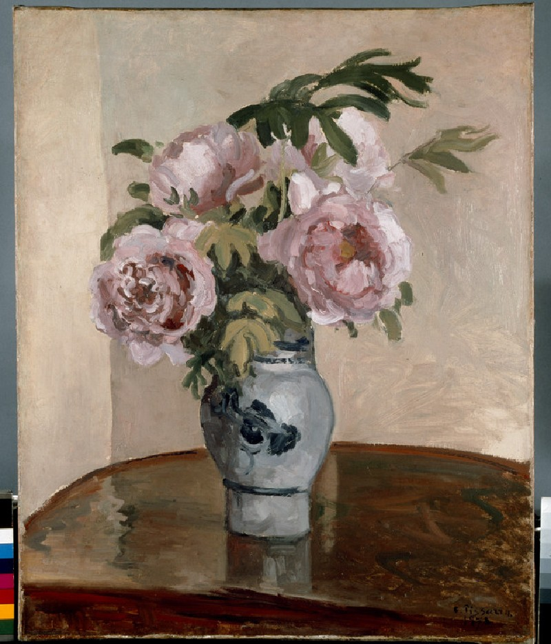 A Bouquet of Pink Peonies