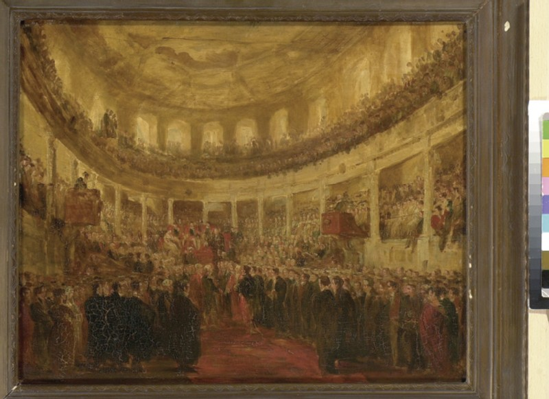 The Conferment of Honorary Degrees on the Allied Sovereigns in the Sheldonian Theatre