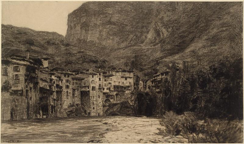 View of Pont-en-Royans (front           )