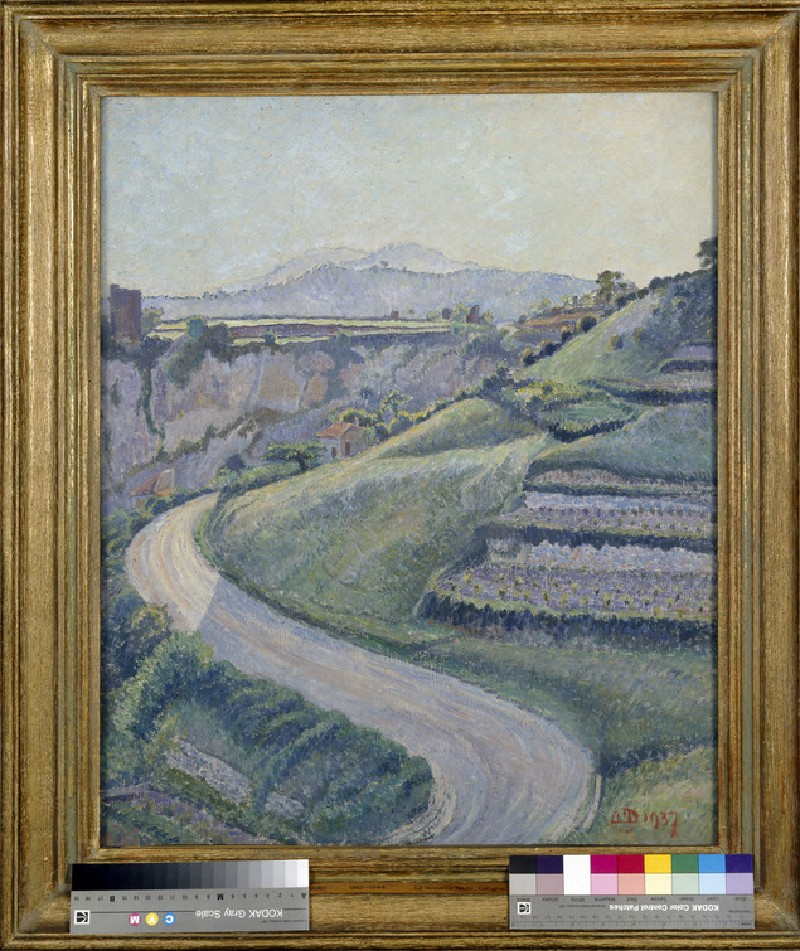 La Nouvelle Route, Cotignac (WA1952.6.15)