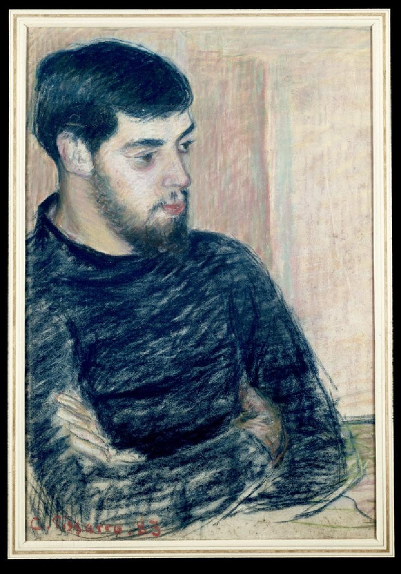 Portrait of Lucien Pissarro (WA1952.6.208)