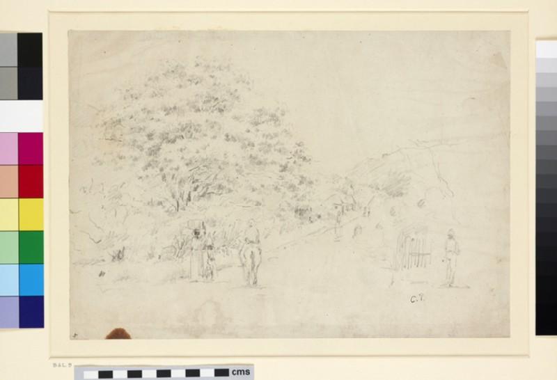 Landscape with a Road (WA1952.6.24)
