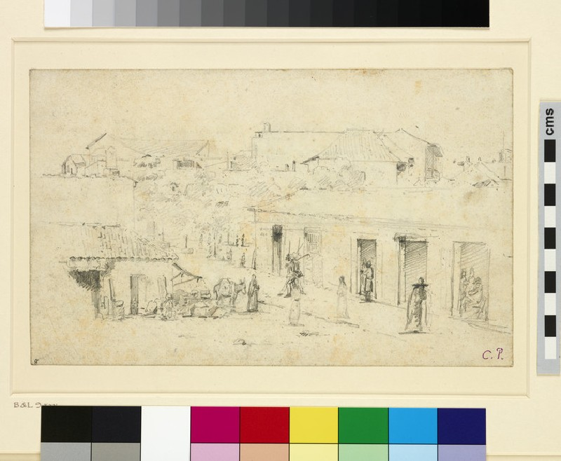 Recto: A Street in Venezuela