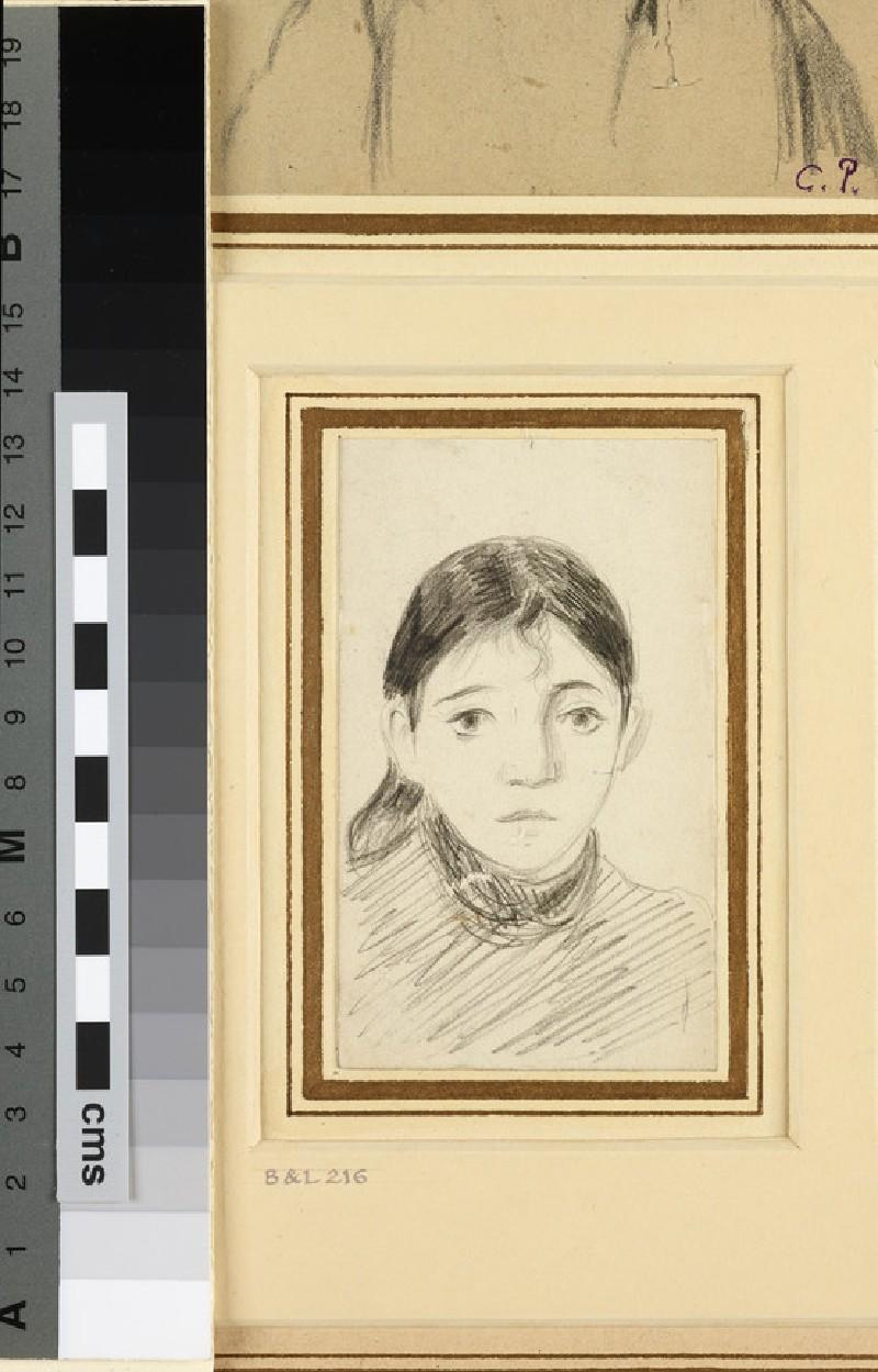 Portrait of Jeanne-Marguerite-Eva Pissarro (known as Cocotte) (1881-1948)