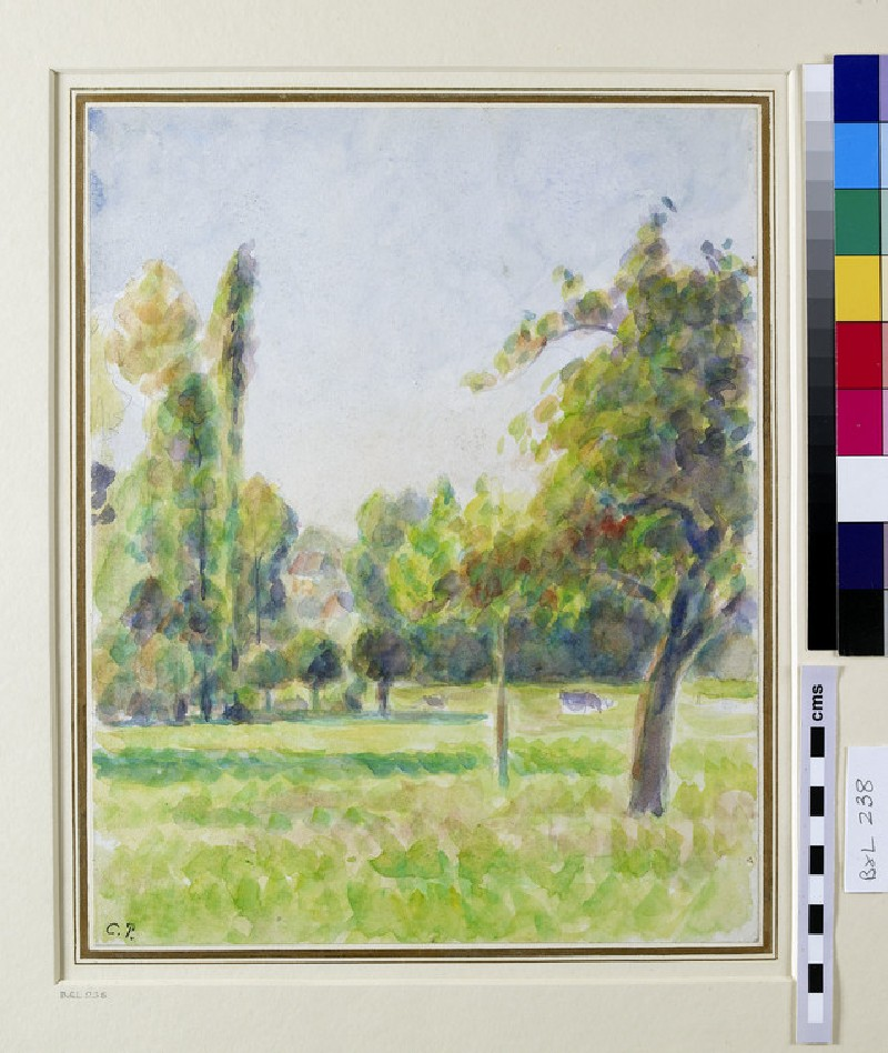 Study of the Orchard of the Artist's House at Eragny-sur-Epte (WA1952.6.335)