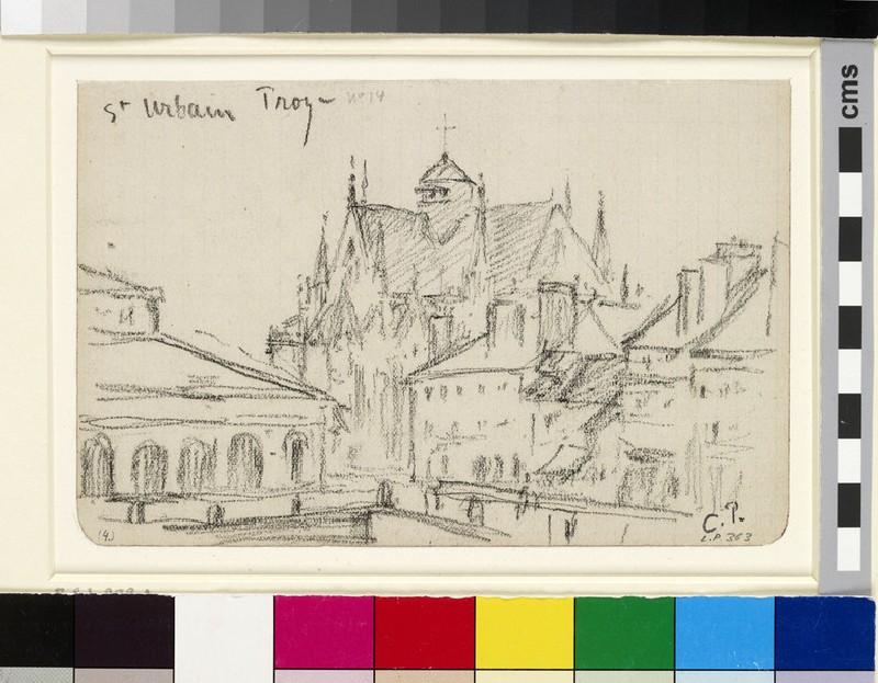 Study of St Urbain, Troyes