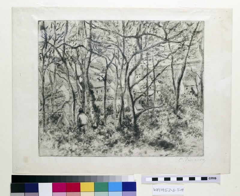 Paysage sous Bois, à l'Hermitage (Pontoise) (WA1952.6.509)