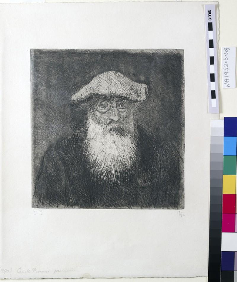 Camille Pissarro, par lui-même (Self-portrait)
