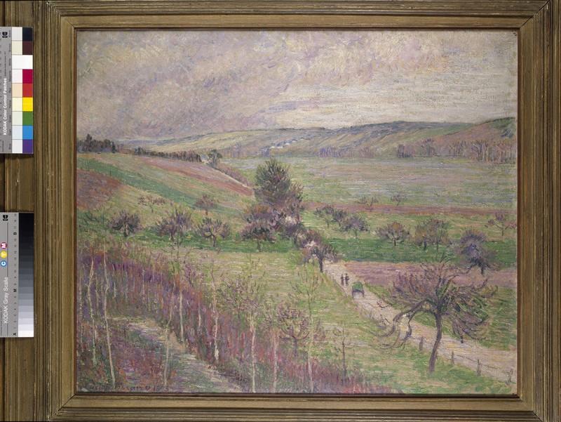 La Route de Thierceville, (Early Spring)