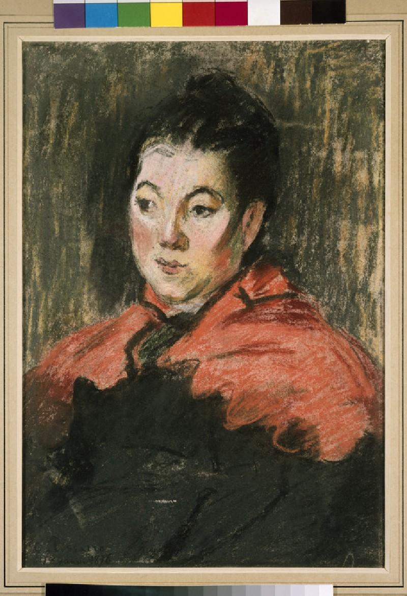 Portrait of Mlle Marie Daudon (WA1952.6.99)