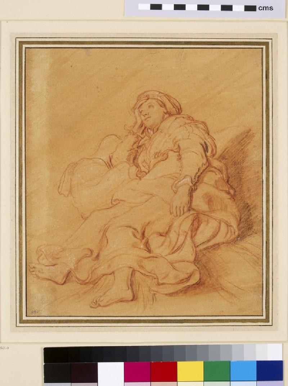 Study of the Figure of Rachel