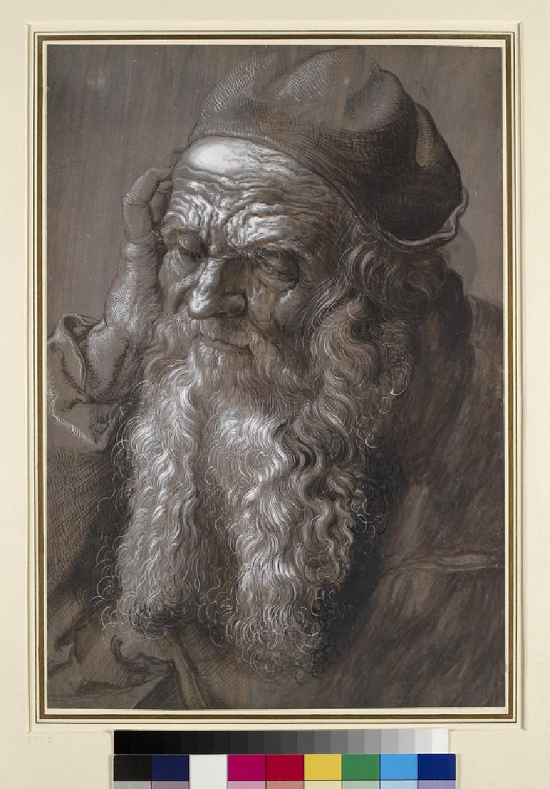 An old Man aged 93 (St Jerome) (WA1953.118)