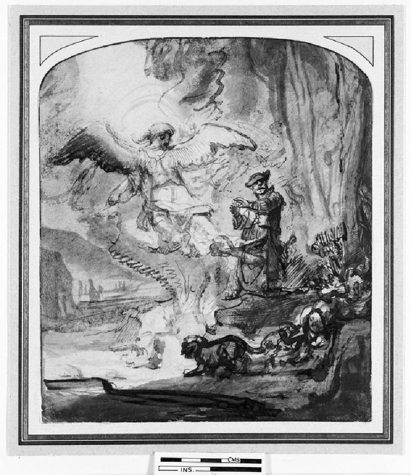 The Sacrifice of Gideon (WA1953.82)