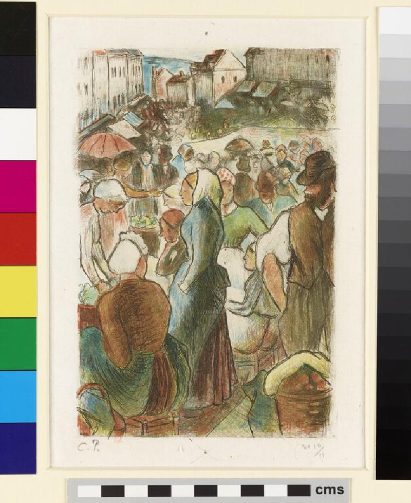 Marché de Gisors (Rue Cappeville) (WA1953.88.3)