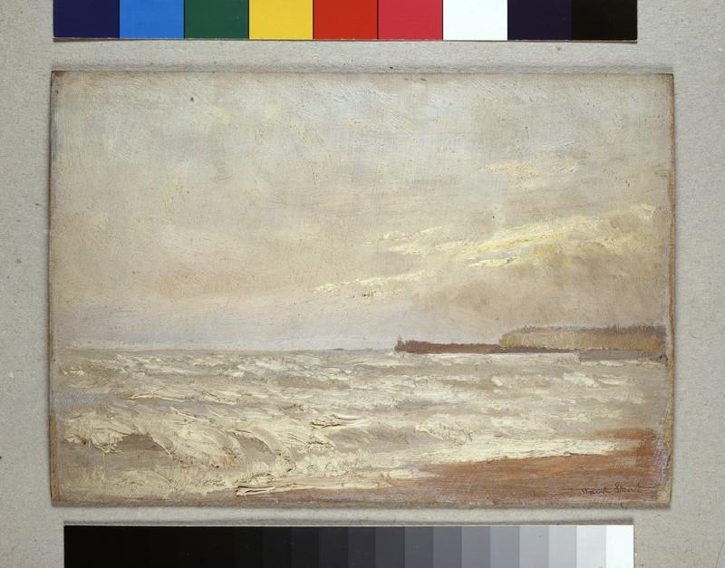Coast Scene with distant Headland