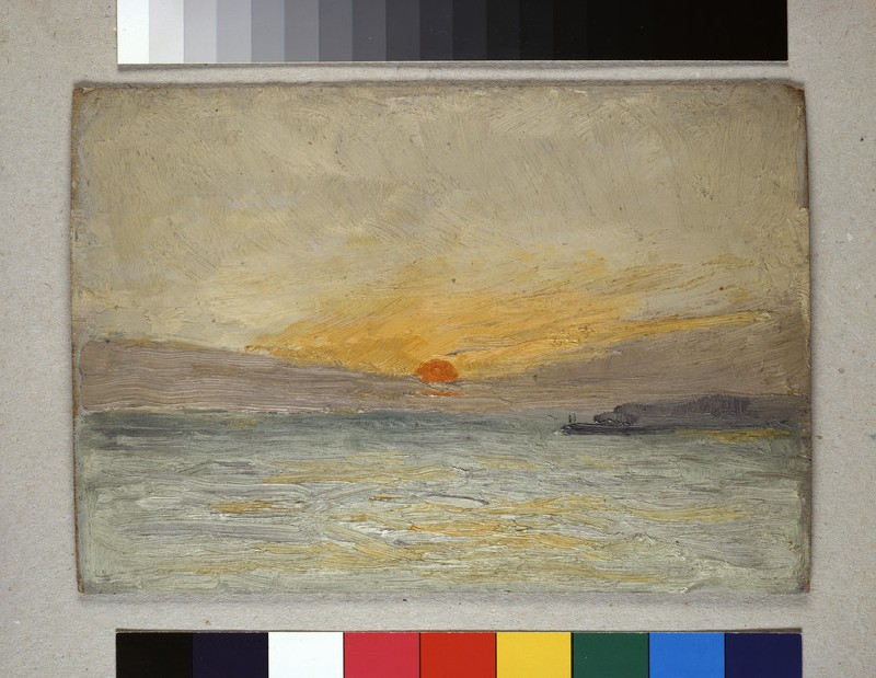 Sunset (WA1954.131.11)
