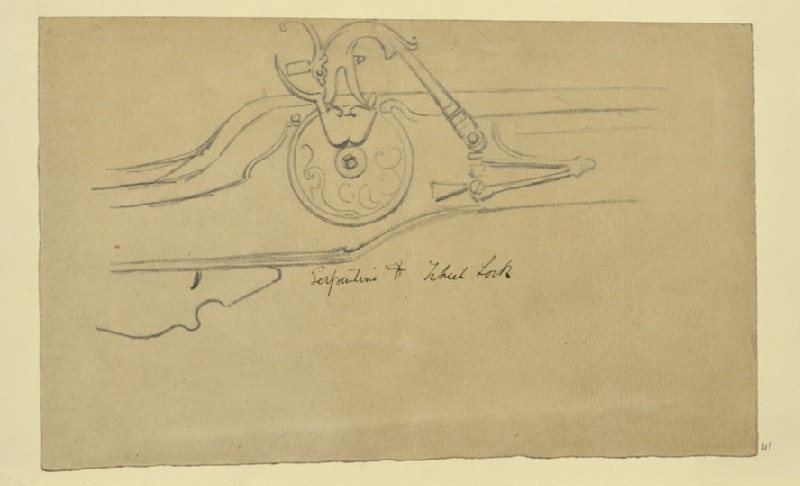 Study of a Serpentine and Wheel Lock