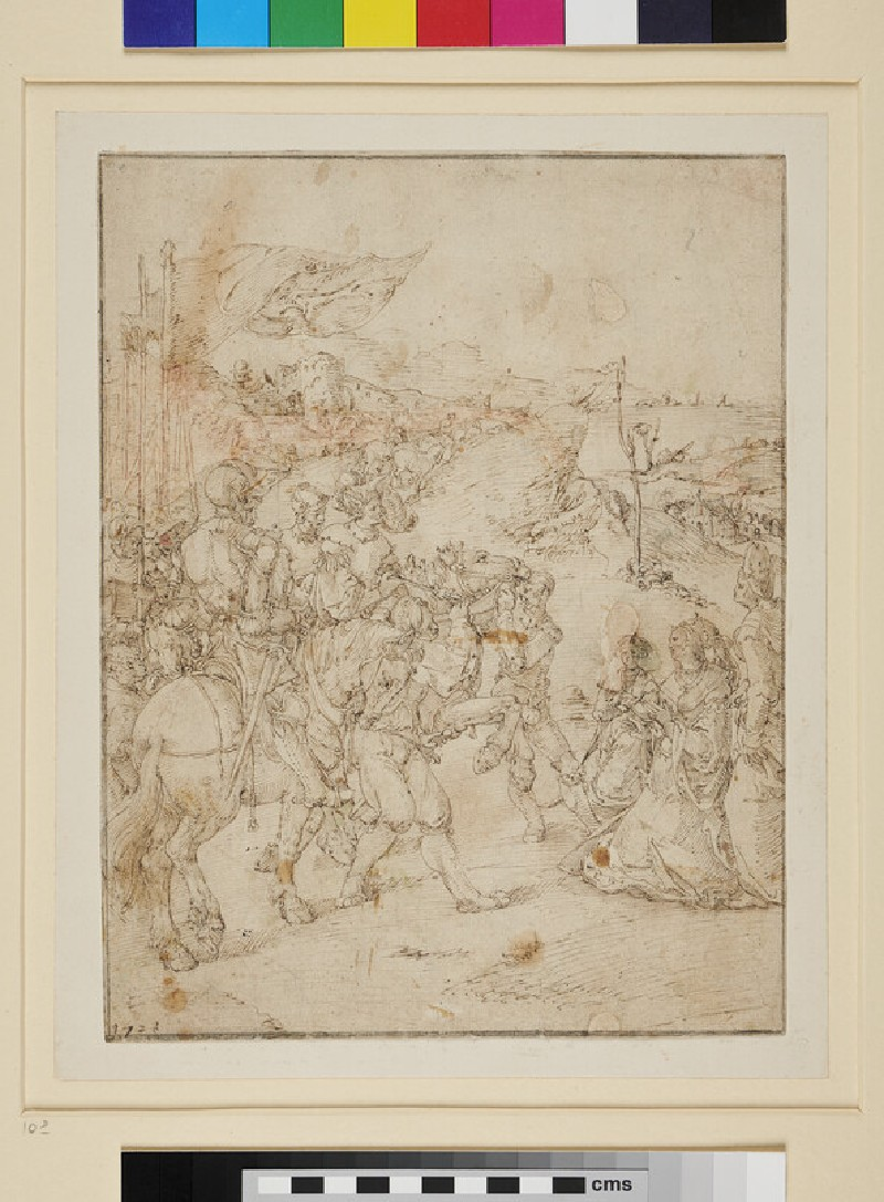 The Meeting of Jephthah and his Daughter (WA1954.69, recto)