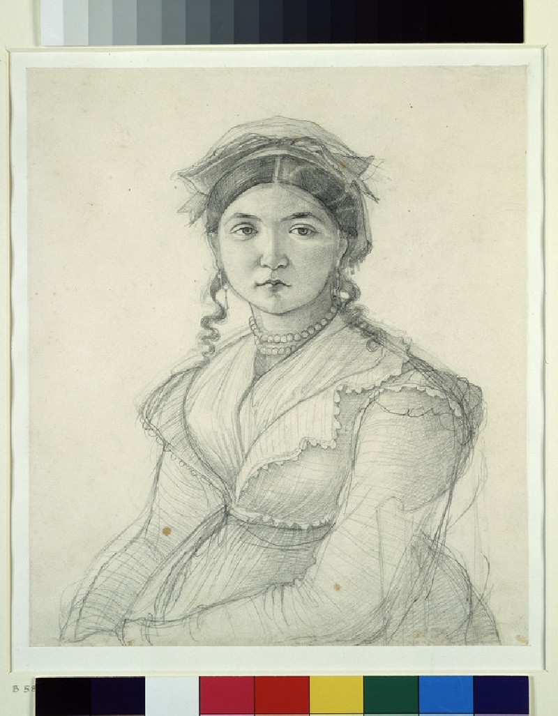 Portrait of a Girl sitting in a Chair
