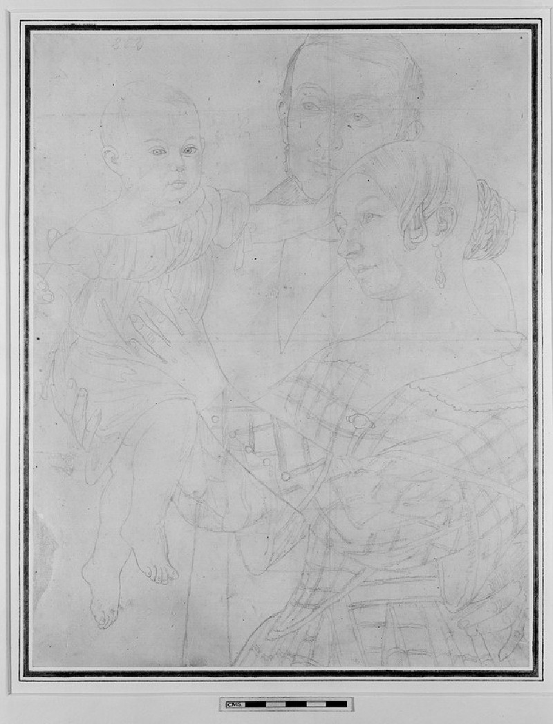 Portraits of a Man, a Woman, and a Child (WA1954.70.169)