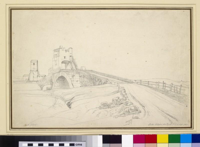 The Ponte Salario near Rome (WA1954.70.82)