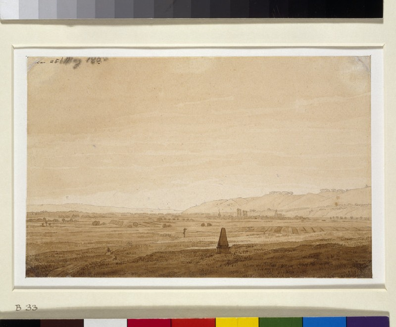 Landscape with an Obelisk (WA1954.70.93)