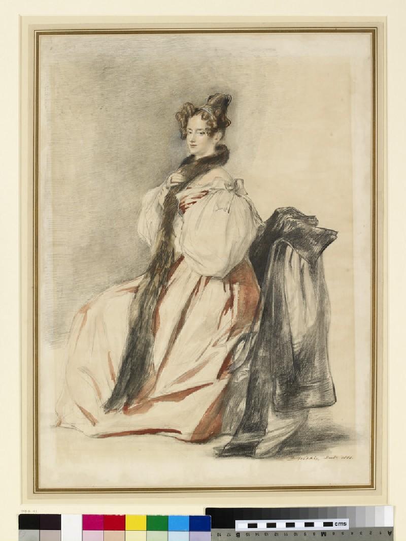 Portrait of the artist's sister Helen, later Mrs William Hunter (1793-1870)