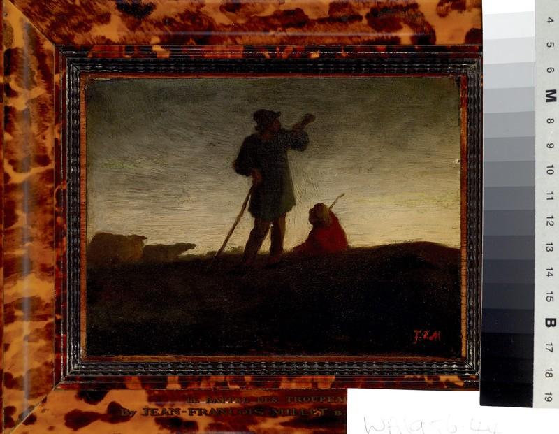 Shepherd recalling the Flock