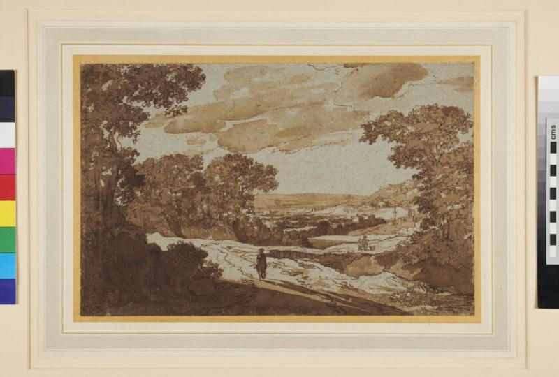 Italian Landscape (WA1956.63, recto)