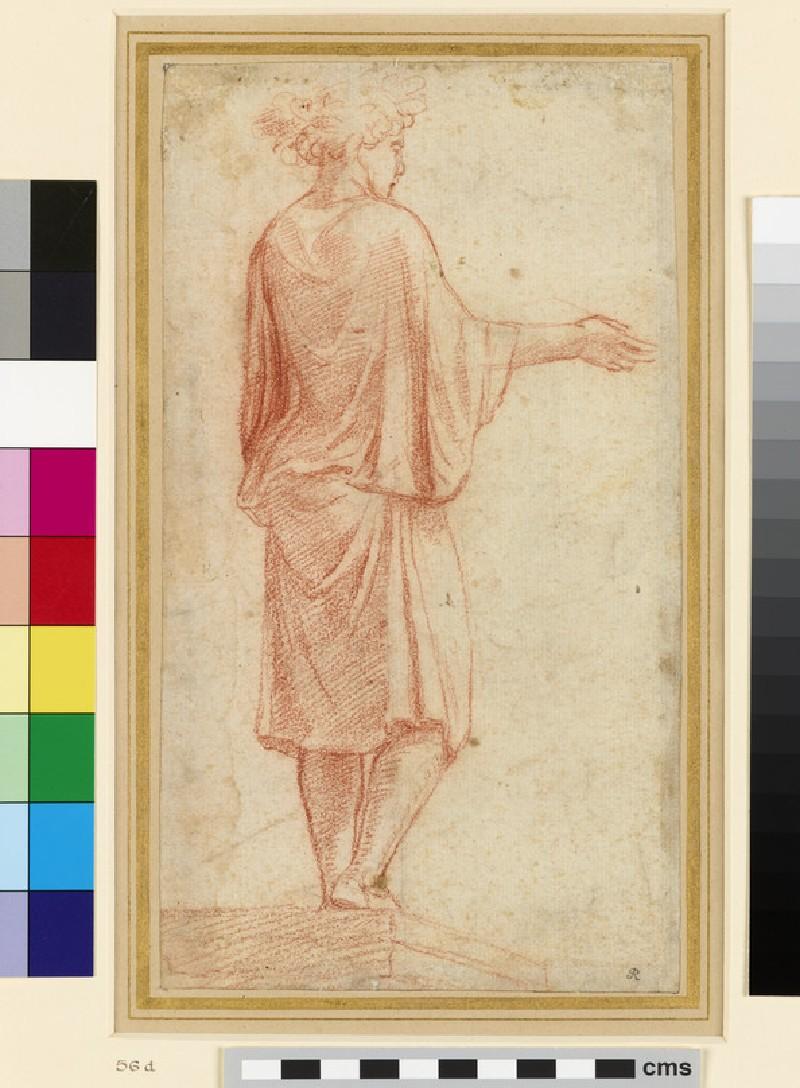 Recto: a Camillus<br />Verso: sketch after the Spinario