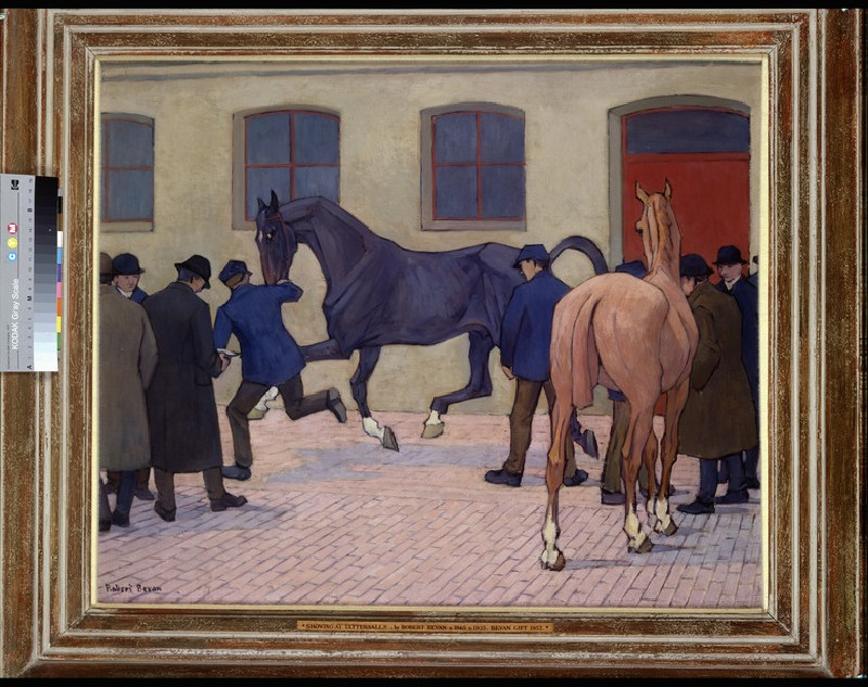 Showing at Tattersalls (WA1957.14.3)