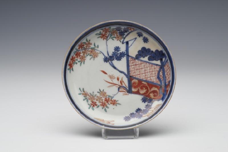 Tea bowl and two saucers (WA1957.24.1.1084)