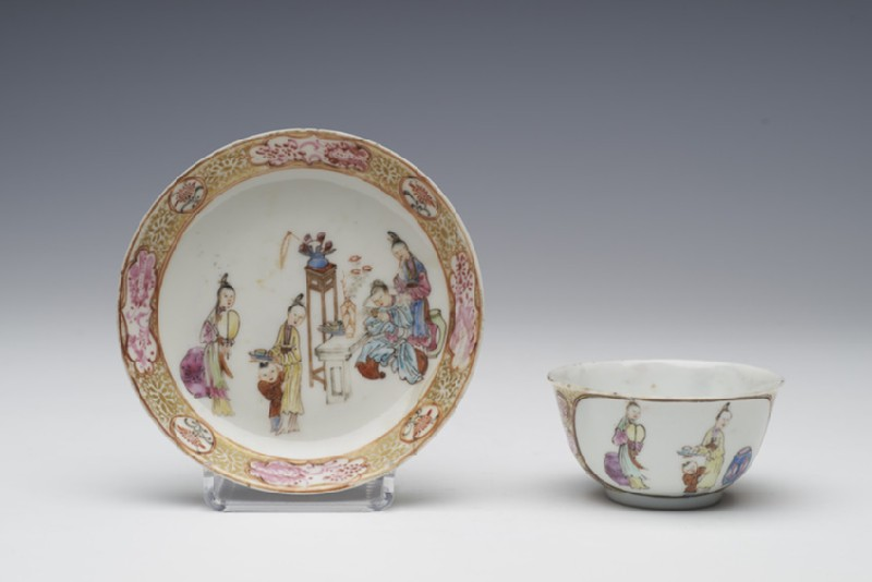 Tea bowl and saucer (WA1957.24.1.172)