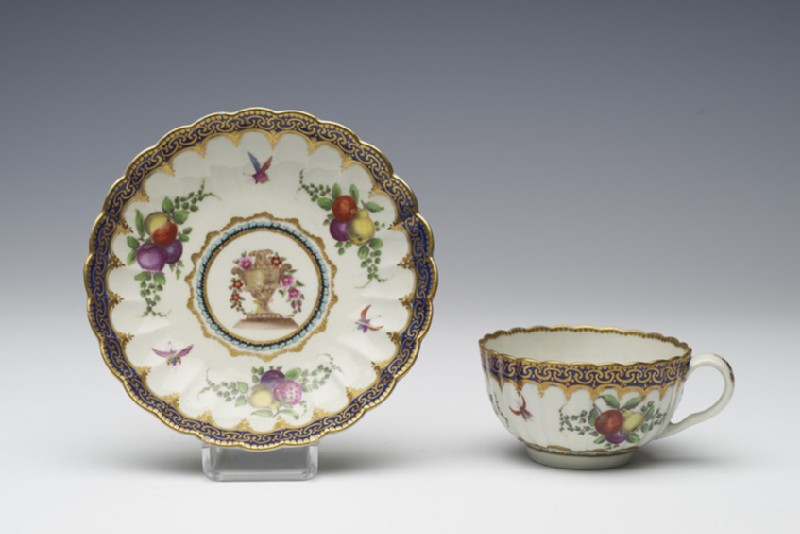 Teacup and saucer (WA1957.24.1.45)