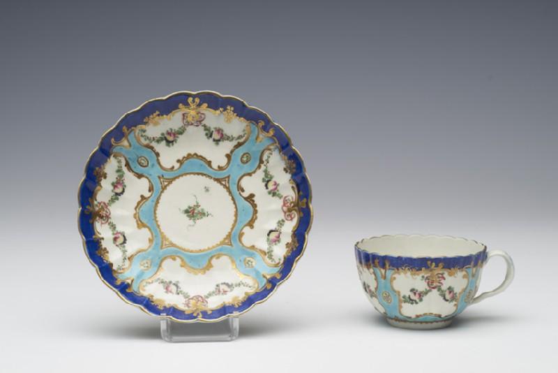 Teacup and saucer (WA1957.24.1.6)