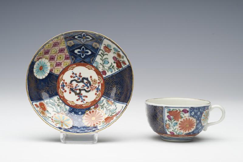 Teacup and saucer (WA1957.24.1.728)