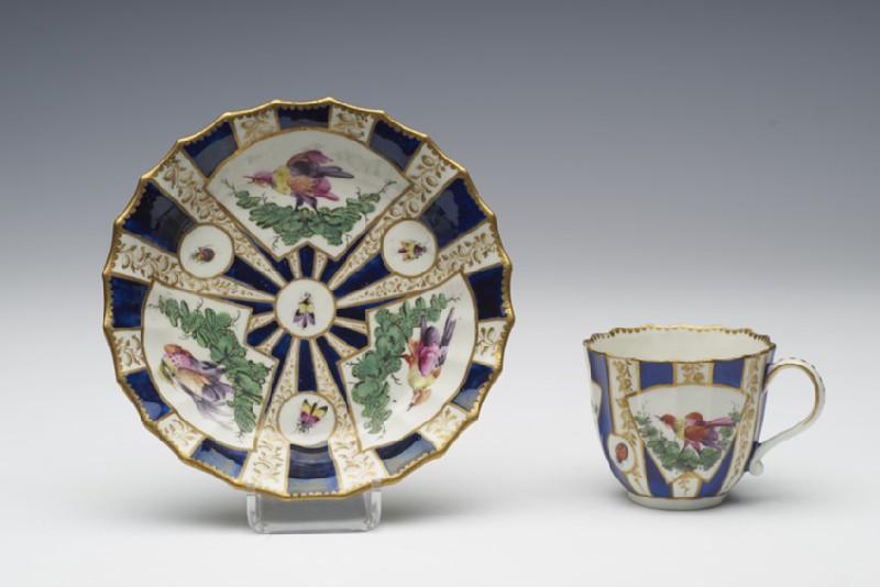 Coffee cup and saucer (WA1957.24.1.906)