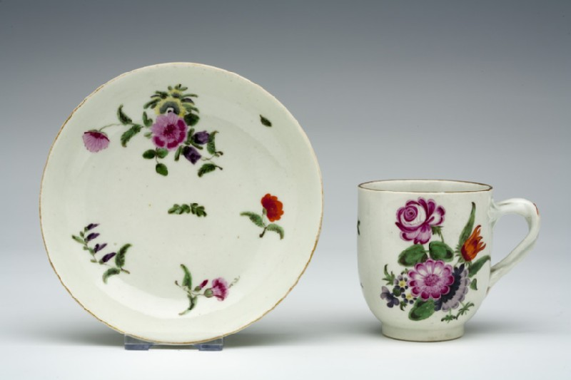 Coffee cup and saucer (WA1957.24.1.1061)