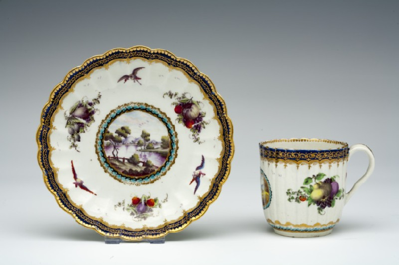 Coffee cup and saucer (WA1957.24.1.19)