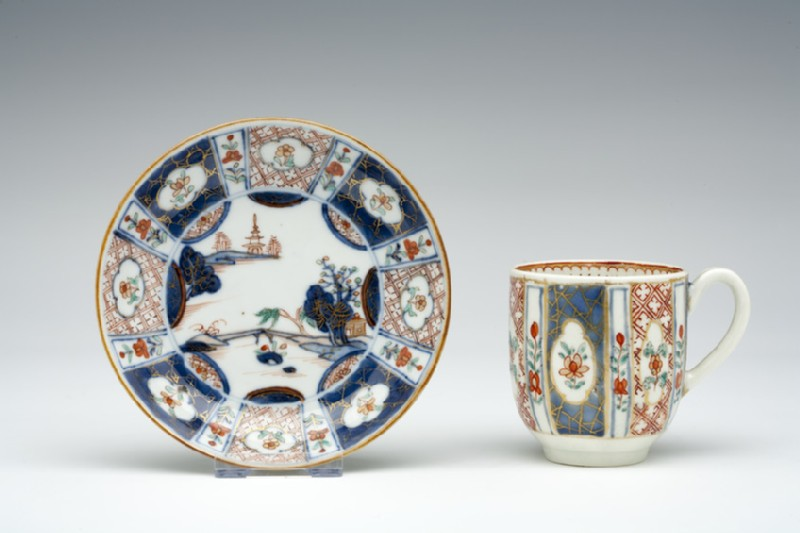Coffee cup and saucer (WA1957.24.1.227)
