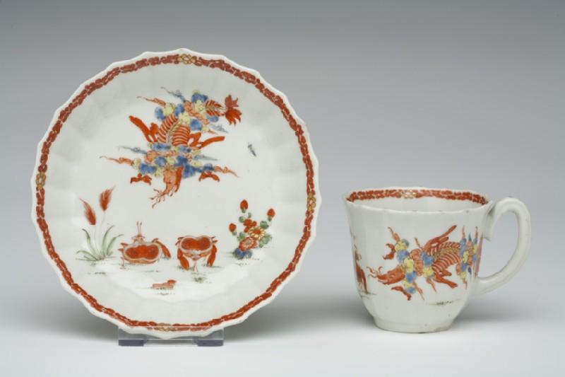 Coffee cup and saucer (WA1957.24.1.273)