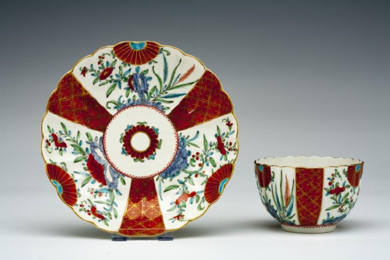 Tea bowl and saucer (WA1957.24.1.277)