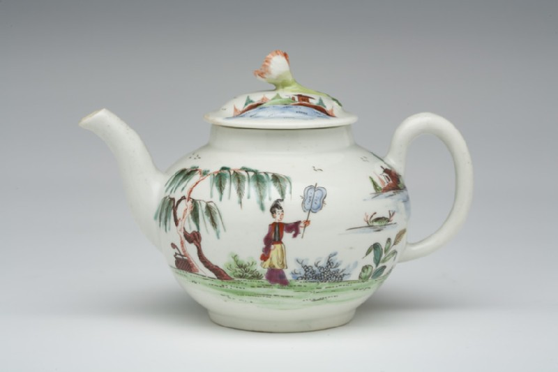 Teapot and lid (WA1957.24.1.314)