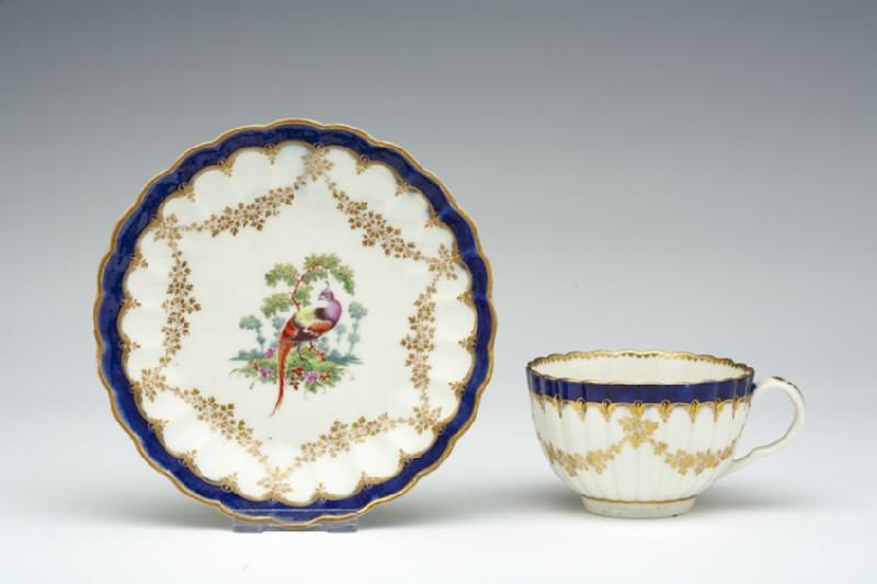 Teacup and saucer (WA1957.24.1.34)