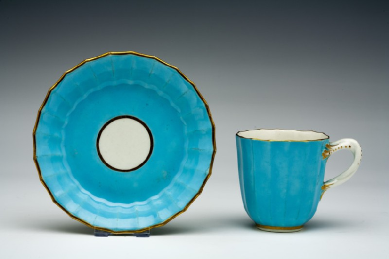 Coffee cup and saucer (WA1957.24.1.377)